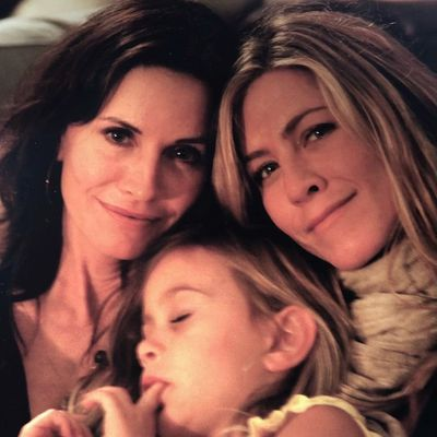 Courteney Cox's daughter and godmother Jennifer Aniston