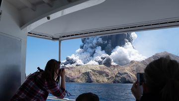 When the White Island volcano erupted, several tourists died as thick plumes of smoke and magma exploded out of the volcano on December 9.
