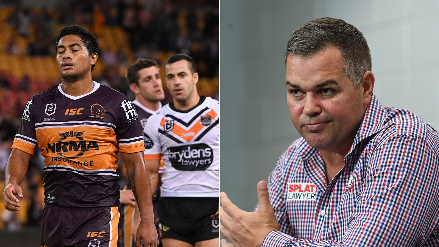 Broncos' coach Anthony Seibold slams critics after loss to Tigers
