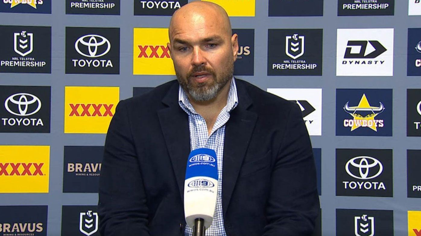 Cowboys coach Todd Payten hits out at 'immature' stars after loss to South Sydney