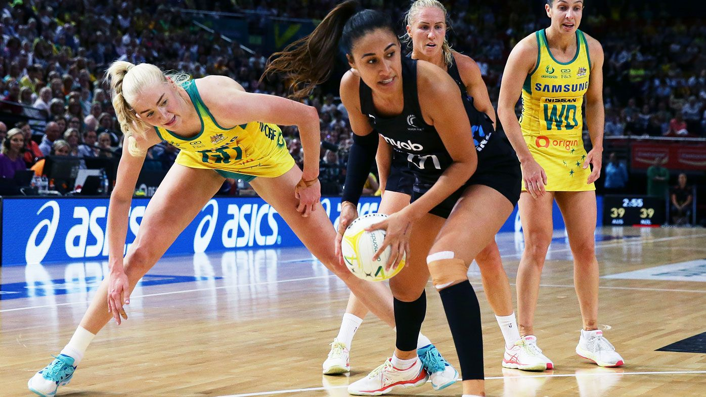 The Silver Ferns shade Diamonds in Constellation Cup