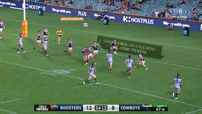 NRL 2017 Finals: Sydney Roosters vs North Queensland Cowboys, live scores, results, video highlights
