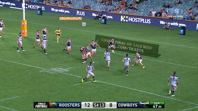NRL 2017 Finals: Sydney Roosters vs North Queensland Cowboys, live scores, results, video highlights