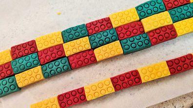 Edible Lego bricks
