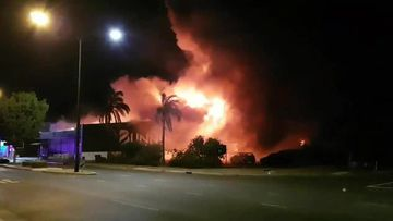 Residents near fire ravaged Bunnings still unable to return home