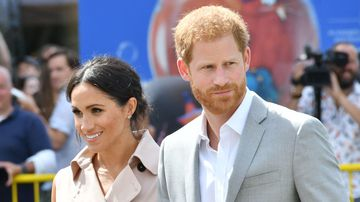 Prince Harry and his new wife Meghan have visited an exhibition marking 100 years since the birth of former South African President Nelson Mandela. Image: Cover Images