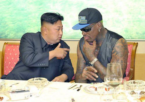 Kim is a huge basketball fan and Rodman considers Kim a friend.