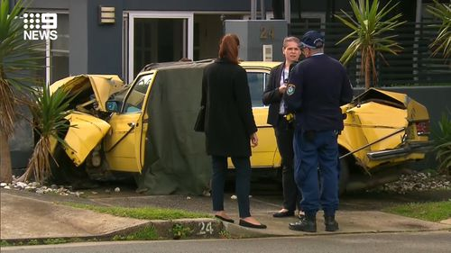 Man, 101, dies after car crashes through fence in Sydney's east