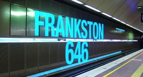 Last year 646 Frankston line trains skipped the Loop. (9ENWS)