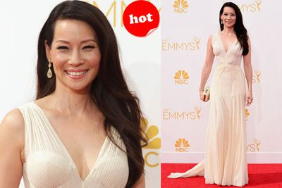 Lucy Liu looking absolutely luminous!
