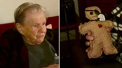 'Australia's grumpiest granny' and her son's bizarre voodoo doll