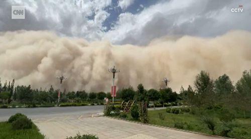 China Dunhuang sandstorm