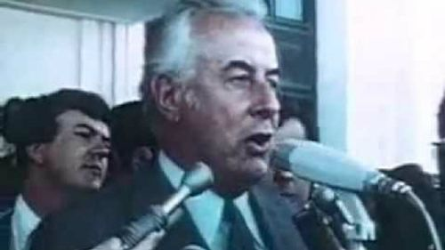 Gough Whitlam's 1975 dismissal gave reporters a front row seat for history. (Supplied)
