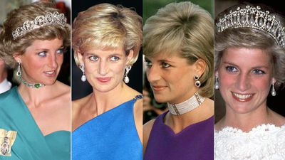 The iconic jewels worn by Diana, Princess of Wales