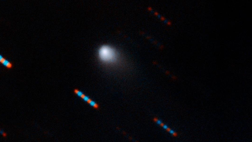 An unusual object detected streaking across the sky last month was a comet that originated outside our solar system, observations have confirmed, becoming only the second observed interstellar object to cross into our solar system.
