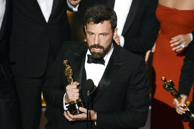 Ben Affleck accepts the Oscar for Best Picture for Argo. His heartfelt speech also gave nods to his wife, Jennifer Garner and aspiring filmmakers. He's come a long way since Mallrats.