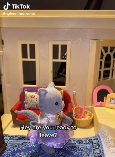 Sylvanian Dramas TikTok series plays out real life dilemmas with plot twists, many to do with relationships.