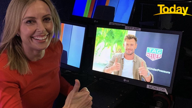 Chris Hemsworth spoke to Today's Ally Langdon from his home-base in Byron Bay.