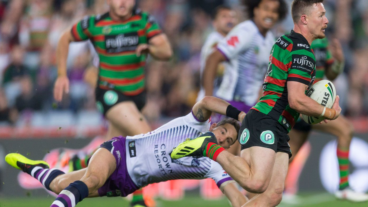 Rabbitohs' Cook burns Storm in NRL win