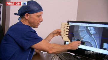 3D-printed spinal implant helps father combat nerve pain