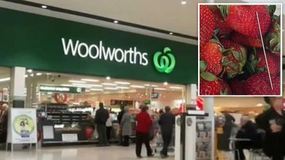 Woolworths takes needles from shelves amid strawberry crisis