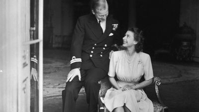 Prince Philip and Princess Elizabeth, 1947