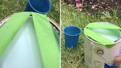 DIY fan shares clever hack to make pouring paint easier