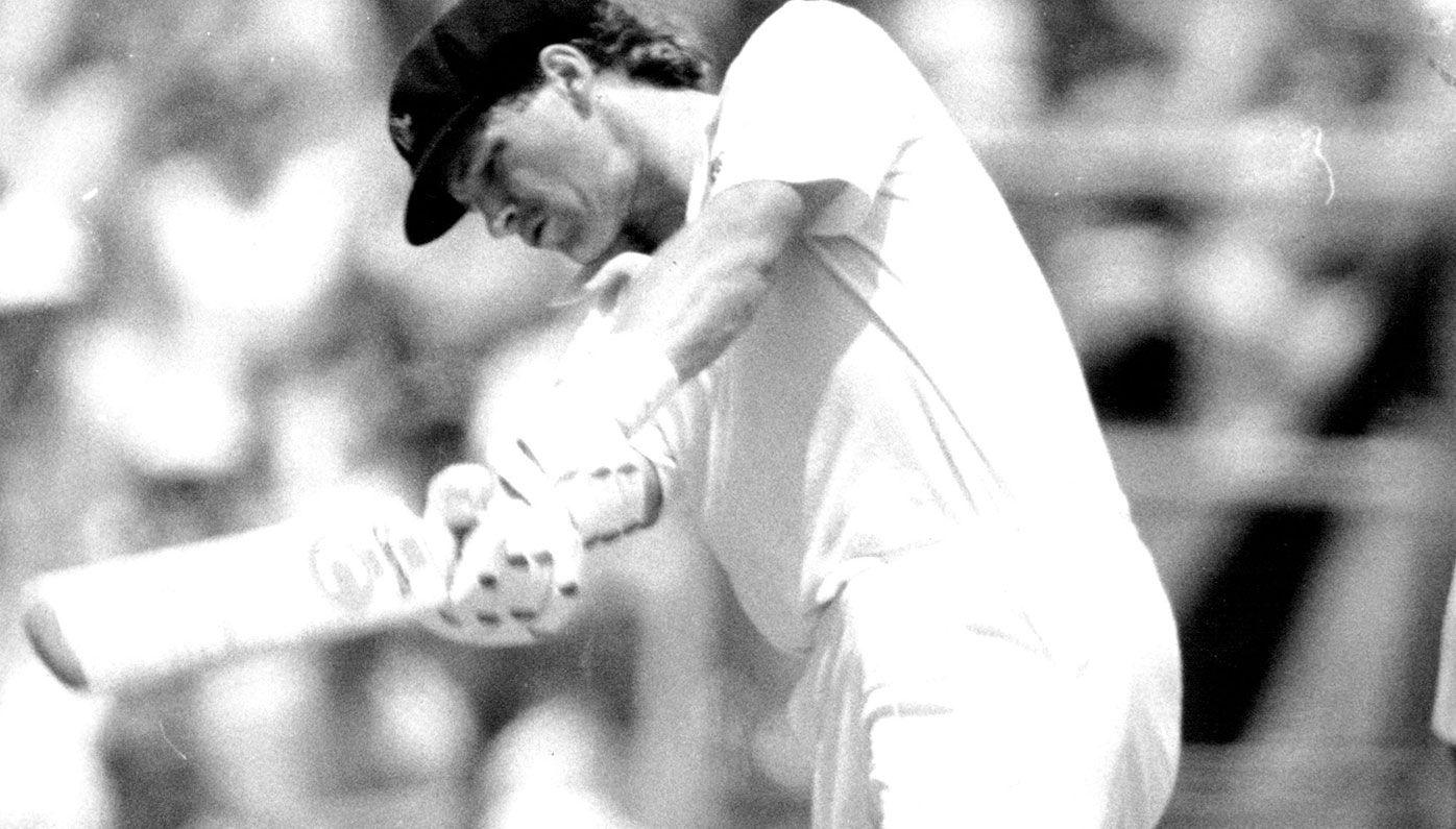 Dean Jones in action for Australia.