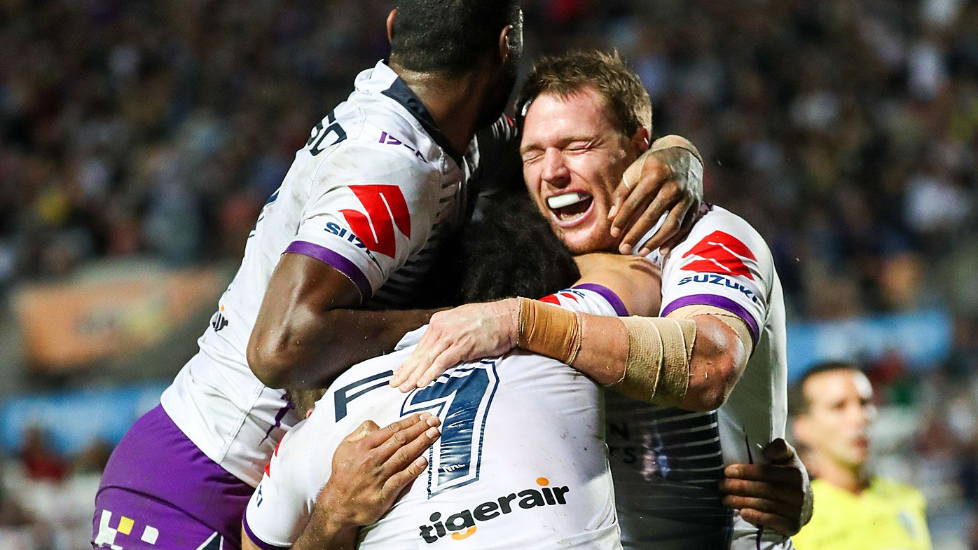 Cameron Munster field goal seals Melbourne Storm victory over North Queensland Cowboys