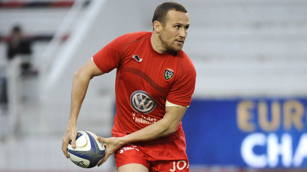 Wallaby veteran Matt Giteau will leave French club Toulon to play in Japan. (AFP)