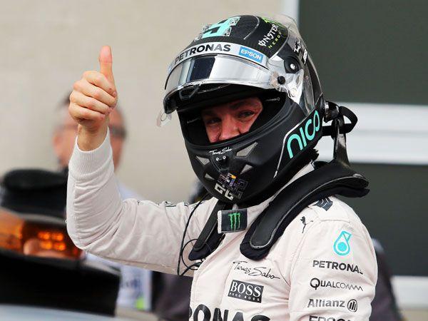 Nico Rosberg. (AAP)