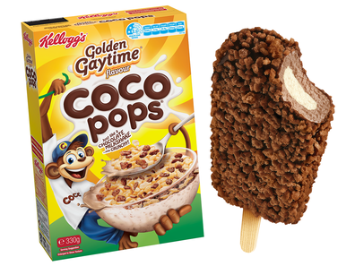 Cocopop x Gaytime cereal and ice-cream