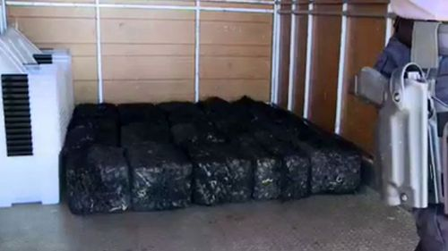 Six hundred kilograms of cocaine has been seized. Picture: Australian Federal Police