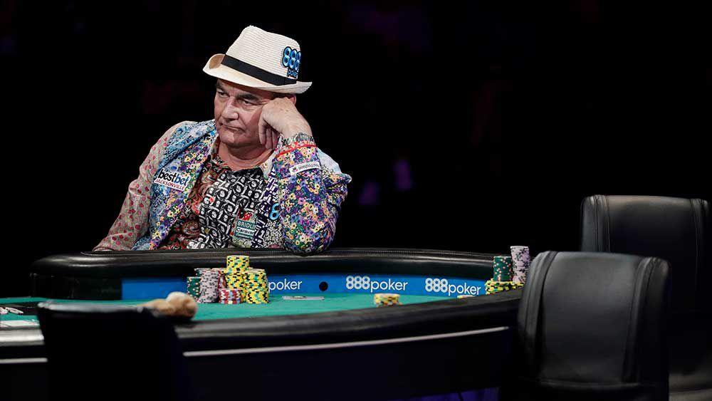 World Series of Poker: Amateur chip leader decimated in shot at $10 million