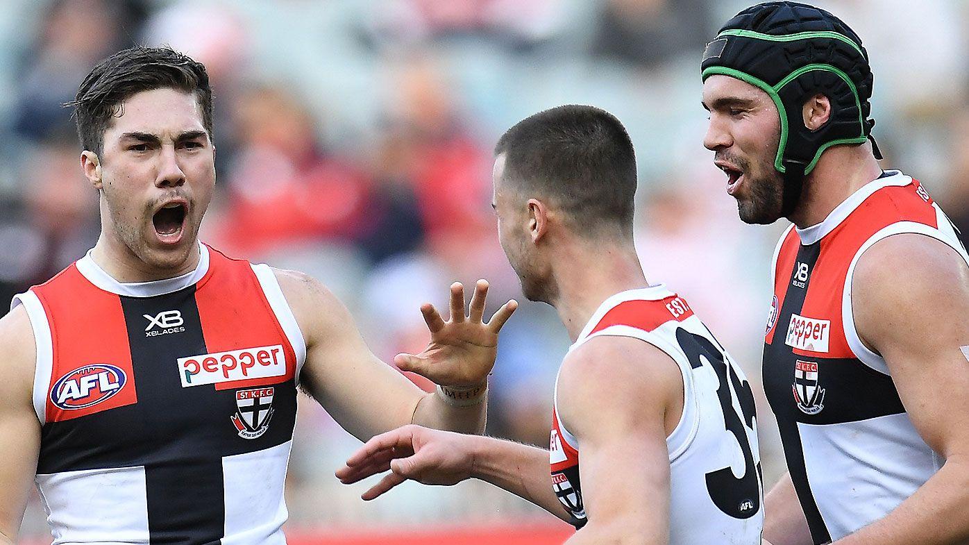 Saints upset Demons in AFL nail-biter