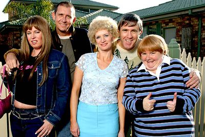 This <I>Da Vinci</I>-code spoofing special was the highest rated movie on Australian telly in 2005. Two weeks out from Christmas Day, foxy ladies Kath (Jane Turner) and Kim (Gina Riley) are both having husband trouble: Kel (Glenn Robbins) accuses Kath of carrying on with crooner Michael Buble at Carols in Candlelight, and Kim boots Brett (Peter Rowsthorn) out of home after he's made to work on Christmas Day. Meanwhile, Sharon (Magda Szubanski) seeks love online, and a mysterious albino (Barry Humphries) has followed Kath and Kel home from their recent trip to Europe...