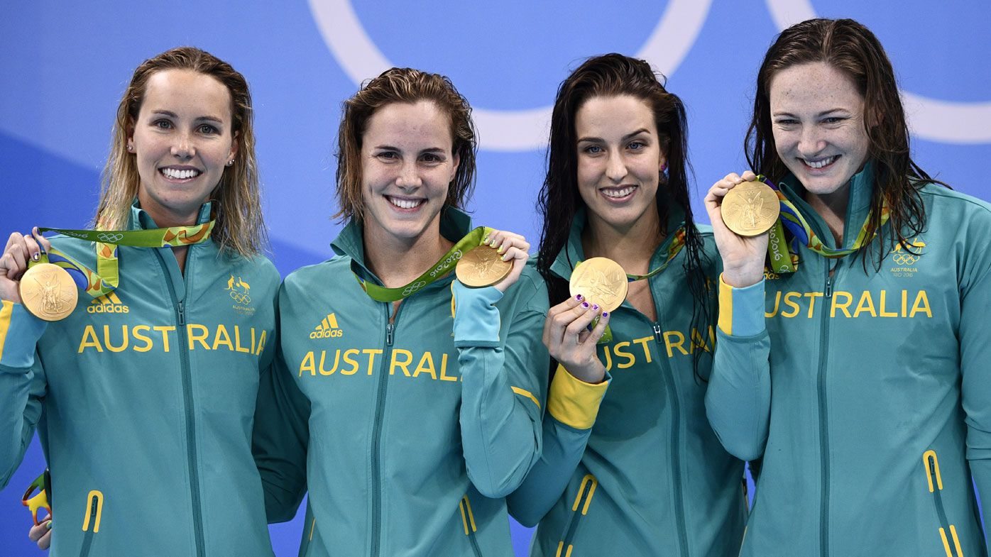 Australian swimmers top London gold tally on day one