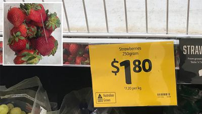 Growers buying metal detectors amid strawberry contamination crisis