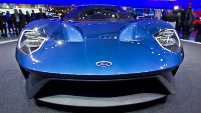 The car harks back to the hugely popular GT of the 1960s. (AAP)