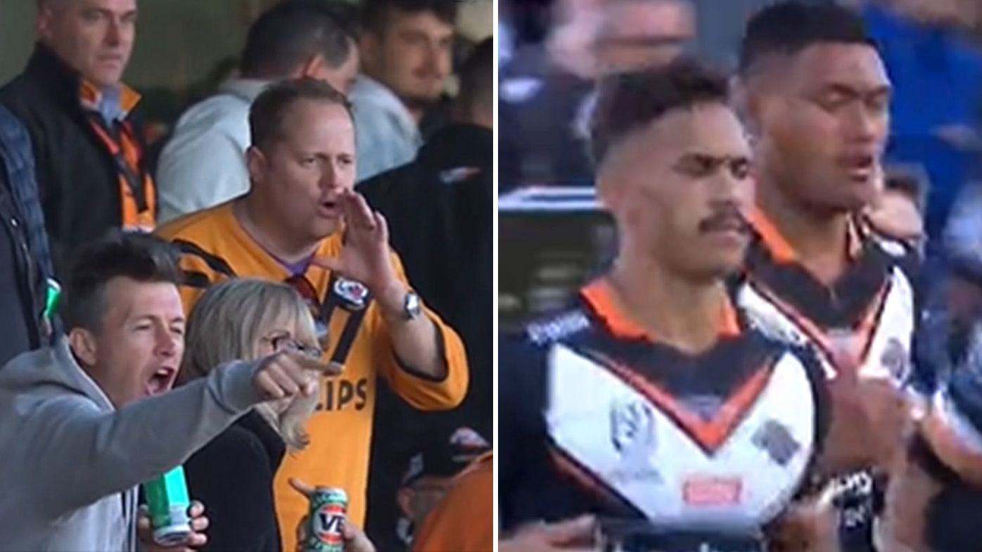 Wests Tigers chairman Lee Hagipantelis left 'gut-wrenched' after Leichardt Oval boos