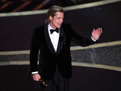 Brad Pitt, Oscars, 2020, speech
