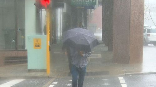 Hold on to your brolly! Severe weather is set to arrive just in time for the school holidays. (9NEWS)