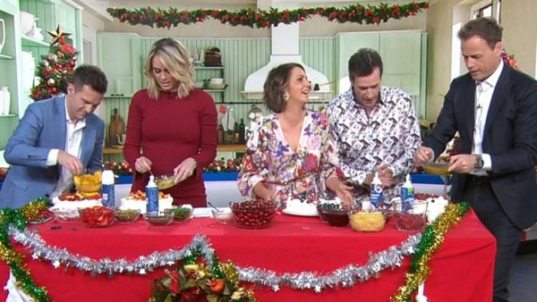 Today hosts compete for the best pavlova