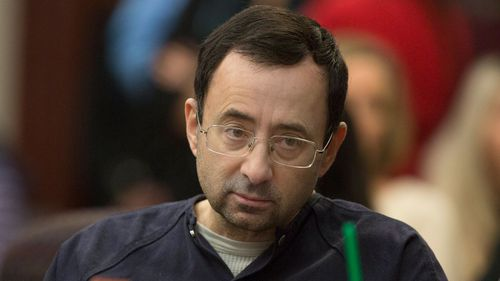Former US Olympic doctor Larry Nassar has been jailed for 175 years. (AAP)