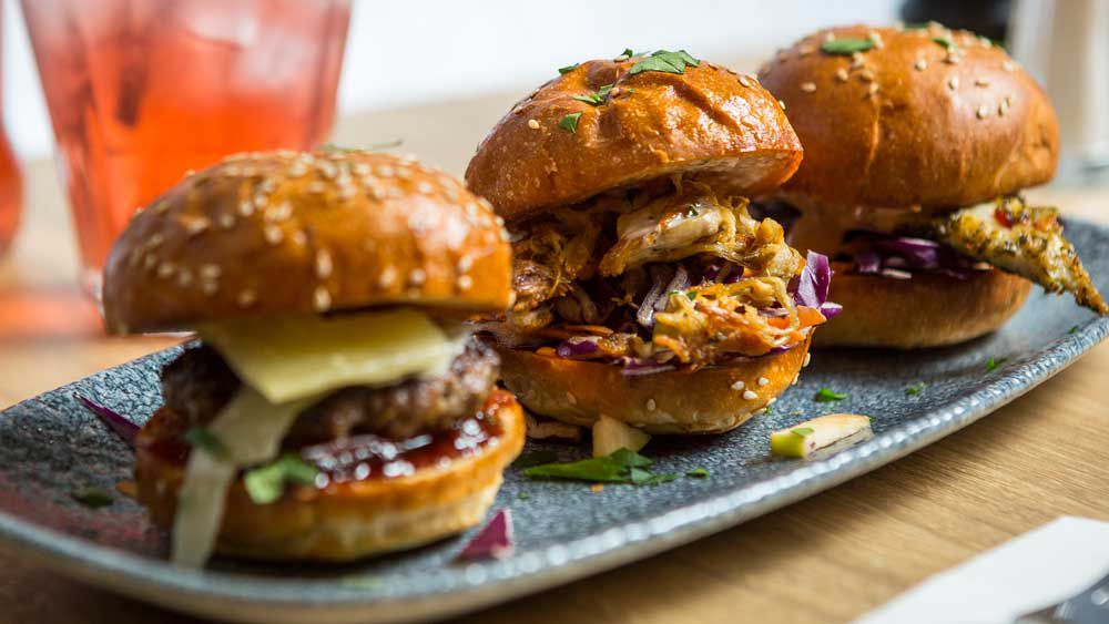 Billy's Central jerk chicken slider recipe