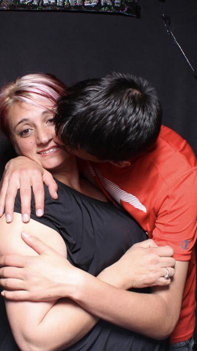 Christopher Cassaniti and mum