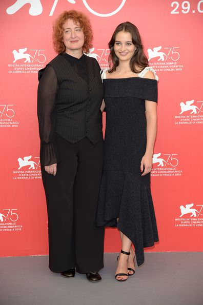 Jennifer Kent and Aisling Franciosi from The Nightingale