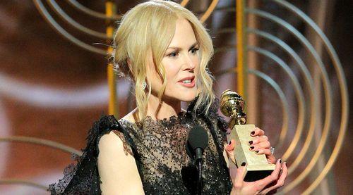 Nicole Kidman won a Golden Globe for her performance in Big Little Lies. (AAP)