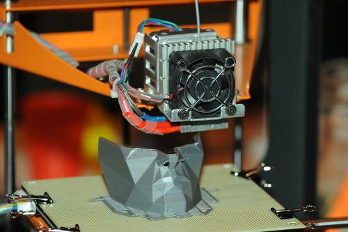 The 3D printing process isn't new. It's been around since about the 1980s and has only recently become affordable to the everyday punter. Picture: AAP.
