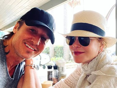 Nicole Kidman, Keith Urban, selfie, Instagram